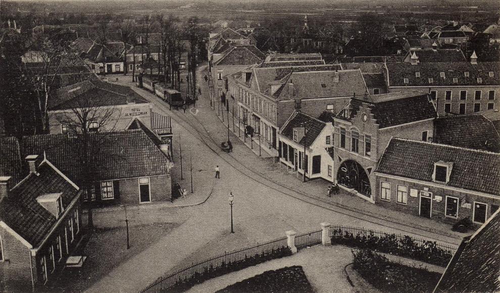 Vierkant Lisse ca. 1920