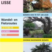 Wandel- en fietsroutes langs bomen in Lisse