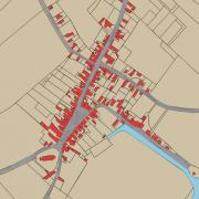 Lisse centrum 1830